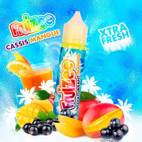 Fruizee Cassis Mangue (50ml)