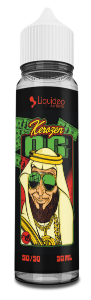 Liquideo Kerozen OG  Omg/10ml (50ml)