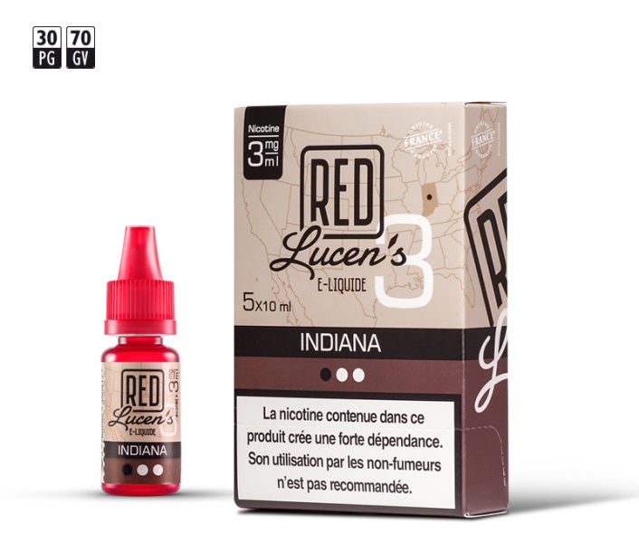 RED Lucen's Indiana (10ml)
